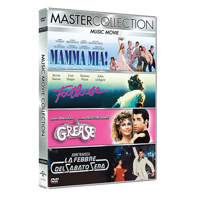Cof *** MUSIC MOVE Collection (4 Dvd) *** sigillato