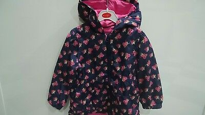 Matalan girls spring cotton lining coat parka 2-3 years great condition