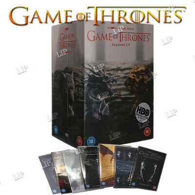 Game of Thrones The Complete Seasons 1-7 DVD Box Set