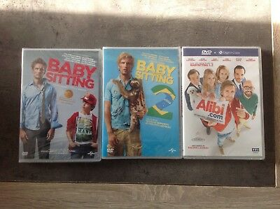 Baby sitting lot de 3 Dvd neuf sous blister