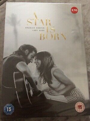 A Star Is Born Dvd (Lady GaGa Bradley Cooper) Fast Free Delivery New & Sealed R2