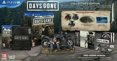 Days Gone Collector's Edition PS4 Exclusive Rare Limited - Pre Order