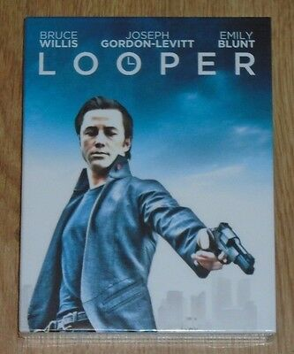 Looper (blu-ray) Steelbook - Filmarena (Full slip). NEW & SEALED.