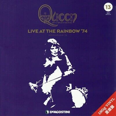 Queen 2LP Record Collection #13 Live At The Rainbow '74 Vinyl DeAGOSTINI w/Track