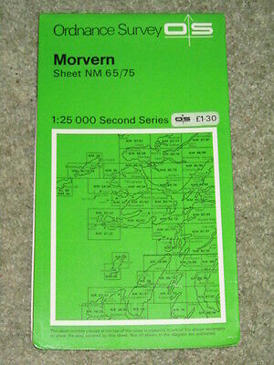 Ordnance Survey 1:25,000 Second Series sheet NM 65/75 Morvern - nr Tobermory