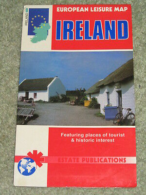 Ireland: European Leisure Map by Estate Publications
