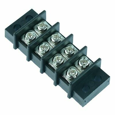 4 Way Screw Barrier Terminal Block Connector