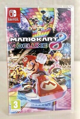Nintendo Switch Mario Kart 8 Deluxe UK Pal Brand New And Sealed