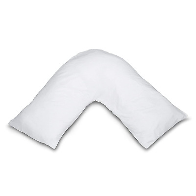 NightComfort Boomerang Back & Neck Support Orthopaedic V Shaped Pillow