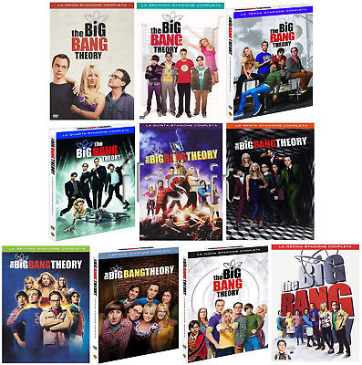 The Big Bang Theory dvd serie completa stagioni 1-10 cofanetti singoli NUOVO ita