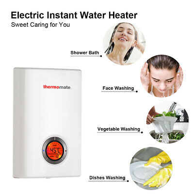Thermomate ELEX12 Electric Instant  Water Heater Tankless Hot Water Heater 12kW