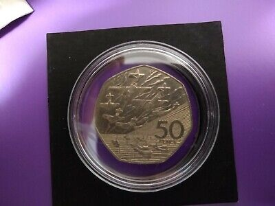 1994 LARGE 50p Fifty Pence D Day Normandy Landings Commemorative Coin