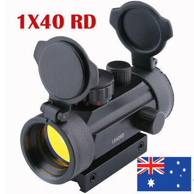 1x40 Holographic Riflescope Red Green Dot Optical Sight 11mm/20mm Rail Hunting