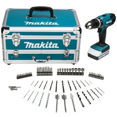 Makita HP457DWX4 18V G Series Combi Drill + 1 x 1.5Ah Batteries, Charger & Acc.