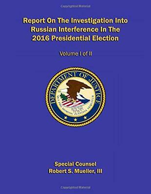 Report On The Investigation Into Russian Paperback Robert S. Mueller III NEW