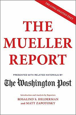 The Mueller Report Paperback by The Washington Post unparalleled reputation NEW