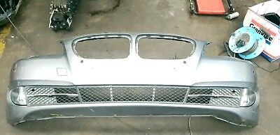Bmw 5 Series F10 F11 Grey Front Bumper Complete Fogs Grills 2010