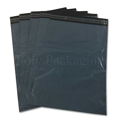 "10 x GREY Mailing Bags 48""x50""(1200x1250mm)XXL EXTRA LARGE SACKS for Posting"