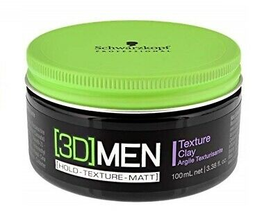 3D MensioN Men Texture Clay Arcilla Texturizante 100ML SchwarzkopF