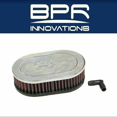 K/&N Clamp-On Oval Straight Air Filter FOR OPEL KADETT D 1.2L L4 CARB RA-072V
