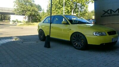Audi A3 S3 Brilliantgelb 1,8T -Downpipe-Chip-Gewinde-18 Zoll- Inzahlungnahme !!!