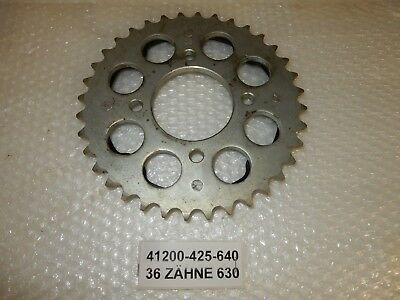 Kettenrad hinten 36 Z Chain Sprocket rear 36 Th. Honda CB750 KZ RC01 New Neu