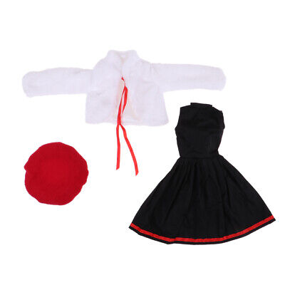 Handmade Pretty Doll Clothes for 60cm Night Lolita Dolls Clothes Accessories