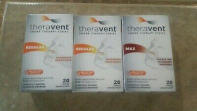Theravent Max 20 Count 05/2020+ 2 regular 60 total