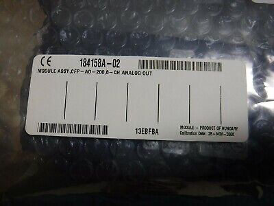 NEW National Instruments CFP-AO-200 8-Ch Current Analog Output Module 184158A-02