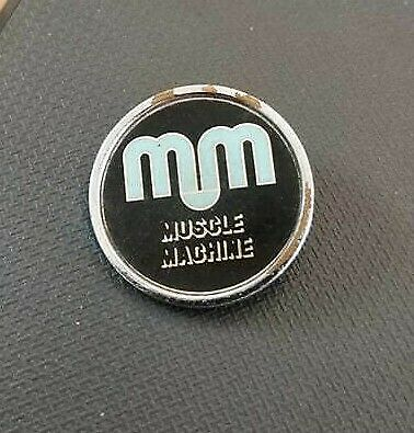 Motorcycle Enamel Pin Badge Muscle Machine CLEARANCE FAULTY