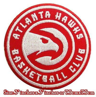 New Atlanta Hawks NBA Basketball sport Embroidered Patch on iron and sewing on