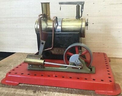 Vintage Mamod Steam Engine Plant & Lever Great Condition