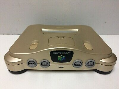 Console Nintendo 64 N64 Gold Jap Loose