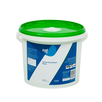 Food Drink Surface Disinfectant Wet Wipes x 1000 Bucket Kills Bacteria Yeast