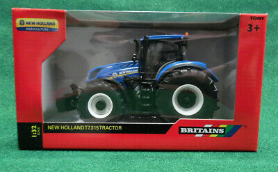 Britain's Toy Model New Holland T7.315 Tractor Brand New Brilliant 1//32 Scale
