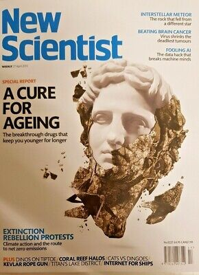 New Scientist magazine 20 APR 2019 # 3225 = CURE FOR AGEING SPECIAL REPORT