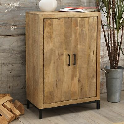 Cove Reclaimed Wood Hallway Furniture Hall Shoe Cupboard Cabinet