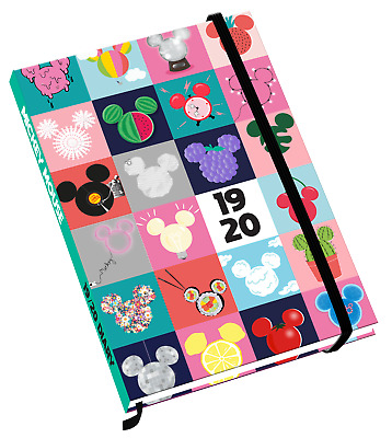 Disney Mickey Mouse A5 Mid-Year Academic Diary 2019-2020 - FREE P&P!