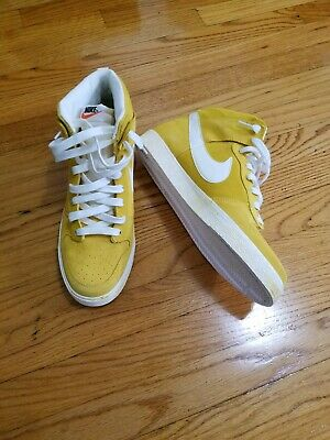 release date: 6f486 f43a9 NEW Mens NIKE DUNK High AC Yellow Sneakers Shoes Deadstock in box