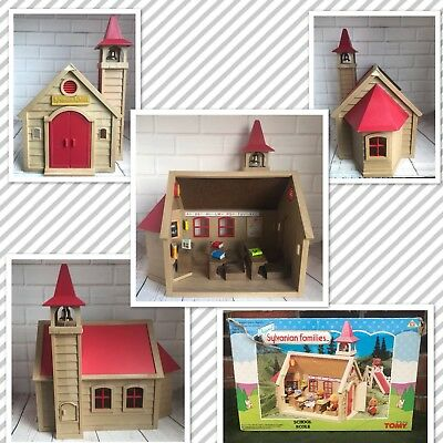 Sylvanian Families School Calico Critters Tomy 1980s Vintage