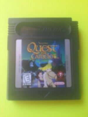 Nintendo NES Gameboy Color  QUEST FOR CAMELOT     Video game FREE POSTAGE