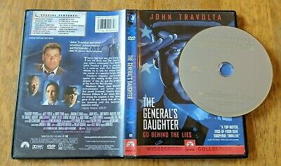 The General's Daughter DVD - John Travolta - Widescreen Collection