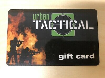 Urban Tactical Gift Card - $100 Mail Delivery