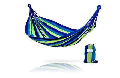Brazilian Double Hammock 2 Person Bed for Backyard, Porch, Outdoor, Camp, House