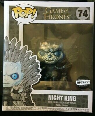 Funko Pop Game of Thrones #74 Metallic Knight King on Throne **HBO Exclusive**