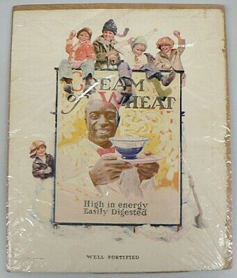 """Vintage 1923 Cream Of Wheat Ad """" Well Fortified """""""