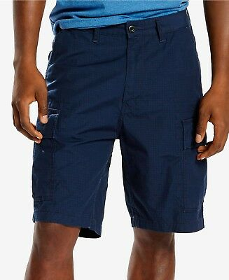 f703511cfe LEVI'S RIPSTOP CARRIER CARGO SHORTS - Men's 40 (Navy Blue) 100% cotton NWT
