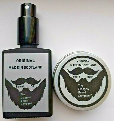 Beard Oil + Beard Balm,Beard Care At Its Best,100% Natural & Organic Ingredients