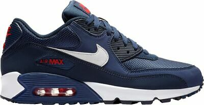 promo code e8ee0 4c793 Nike Men s AIR MAX 90 ESSENTIAL Shoes Midnight Navy White AJ1285-403 d