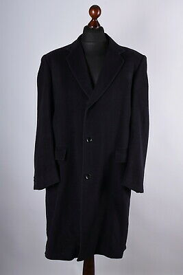 Hardy Amies at Hepworth Wool-Cashmere Classic Coat Size XL